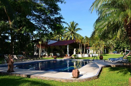 Hotel Paraiso del Cocodrilo: Blick auf das Restaurant