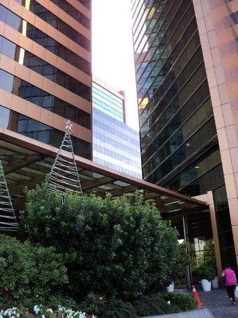 Santiago Marriott Hotel: Façade