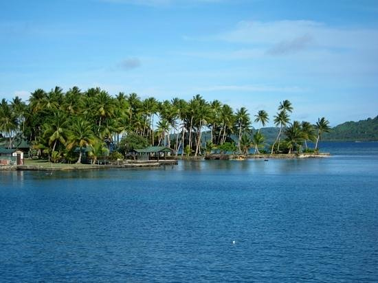 Truk Blue Lagoon Resort: blue lagoon, Chuuk