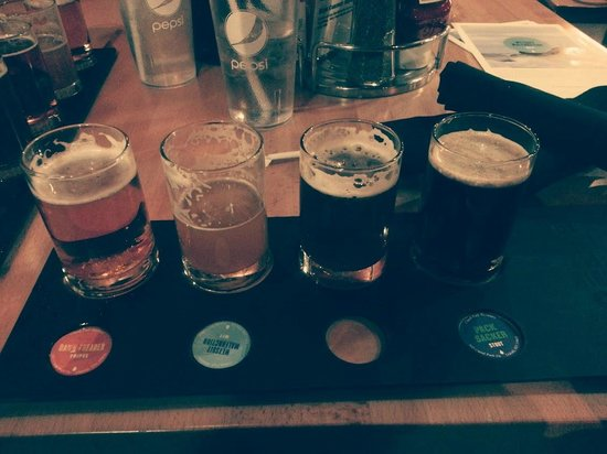 Canal Park Brewery: A beer flight at CPB