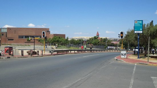 A general view of the Hector Pieterson Museum
