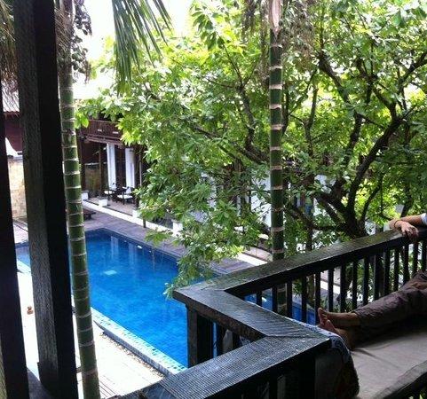 BanThai Village: Vue depuis le balcon de la chambre