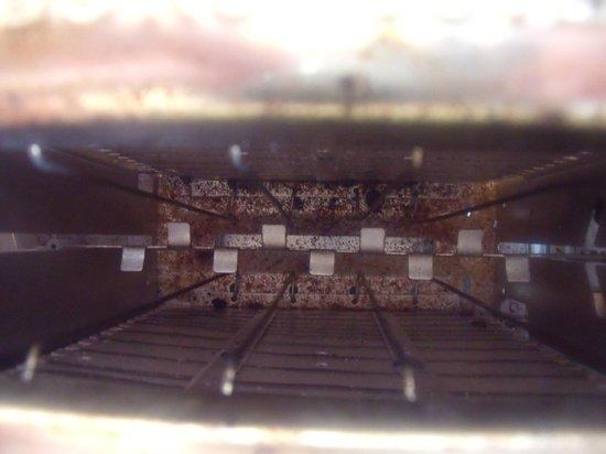 BreakFree Beachpoint: inside putrid toaster
