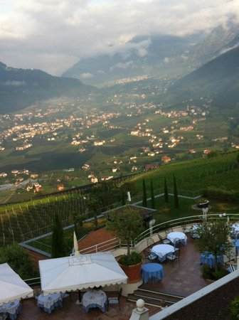 Hotel Castel: View to The Valley, Right