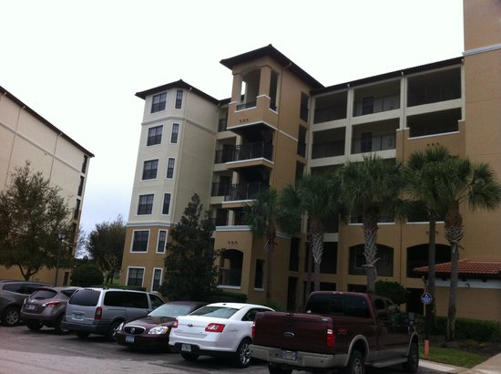 Holiday Inn Club Vacations At Orange Lake Resort: A tower condo building (3 BRs here)