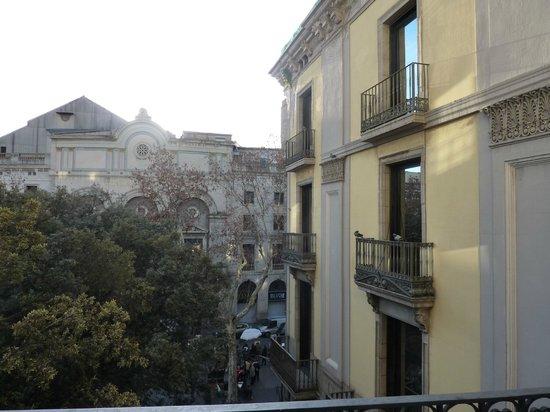 Las Ramblas Home Bed & Breakfast: Vue du balcon de la salle à manger