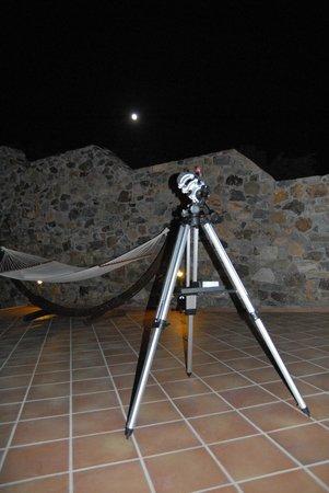 Keramoti Villas: observation de la nuit crètoise