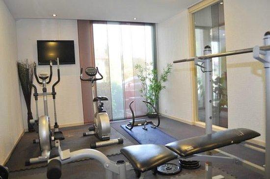 Appart'City Confort Genève Divonne-les-Bains: Park&Suites Prestige Divonne les Bains - Fitness Room