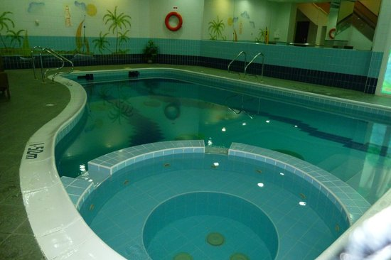 Number One Tower Suites: Indoor Pool