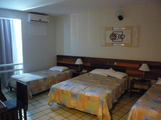 Falls Galli Hotel: Habitación para 4 personas....