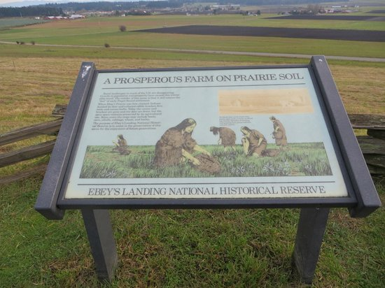 Ebey's Landing National Historical Reserve: this is ebey park and the prairie
