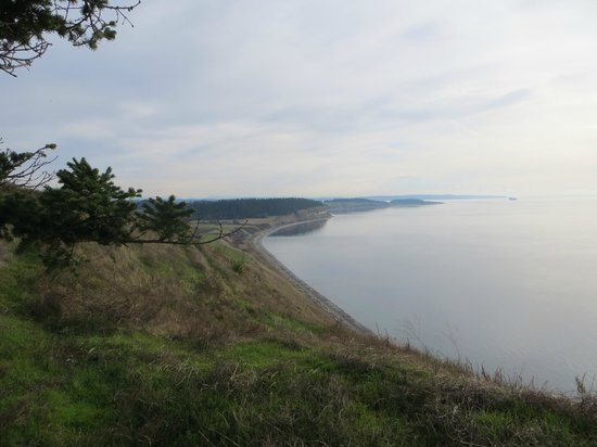 Ebey's Landing National Historical Reserve: beautiful bay