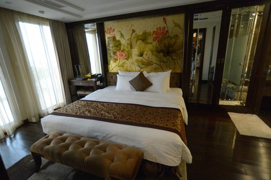 Golden Silk Boutique Hotel: Bedroom of presidential suite