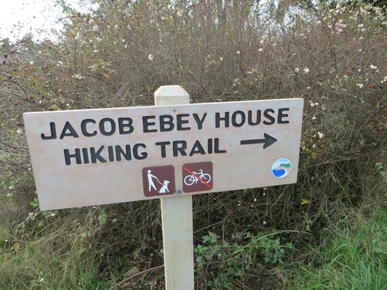 Ebey's Landing National Historical Reserve: Follow the hiking trail - 3 miles +