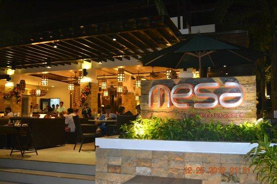 Henann Regency Resort & Spa: new mesa resto