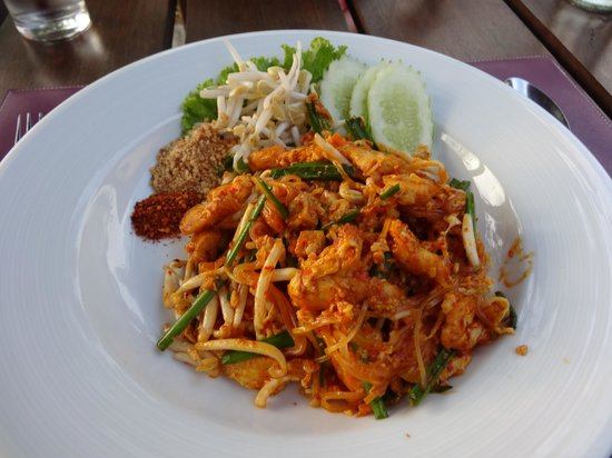 The Passage Samui Villas & Resort: pad thai
