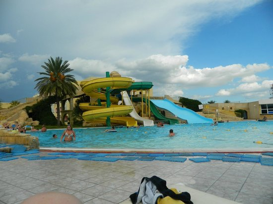 Houda Golf and Beach Club: slide area