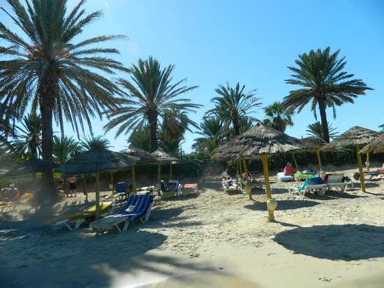 Houda Golf and Beach Club: the beach on your door step