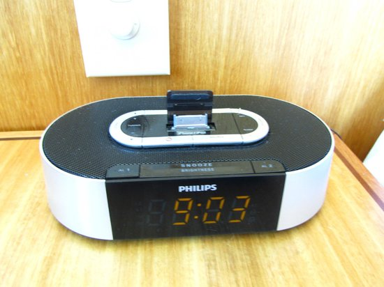 Rydges Perth: Alarm Clock with Iphone charger