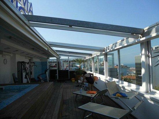 Hotel Panama Majestic: esterno della Spa all'attico