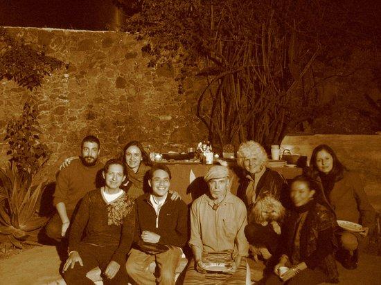 La Casa del Arrayan: la cena de año nuevo