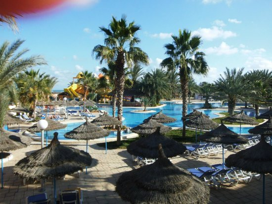 Caribbean World Thalasso Djerba - Lookéa Playa Djerba : Vu de la terrasse
