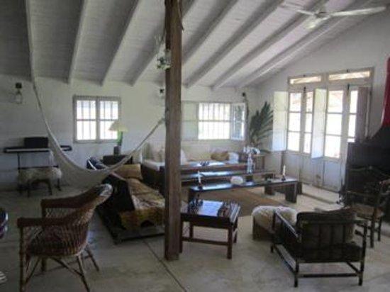 Casa Santa Ana del Ibera: das gemütliche wohnzimmer 