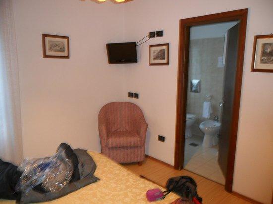 Hotel Tre Ponti : Dalla camera
