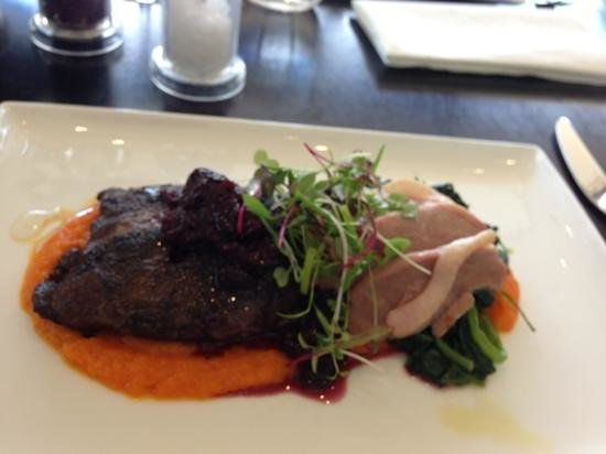 The Studio Gallery & Bistro: duck confit