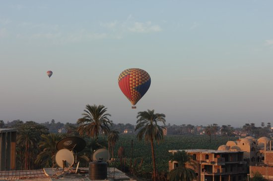 Ramsess Hotel: Panorama all'alba