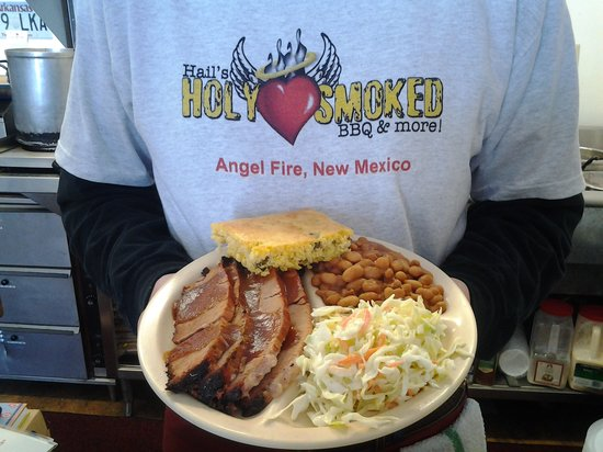 Hail's Holy Smoked BBQ & More: this is the brisket plate
