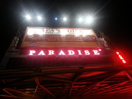 Paradise : Rarely an area is named after a Restaurant
