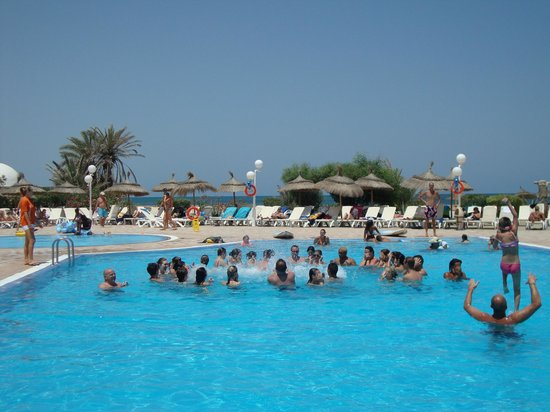 Club Marmara Yasmine: Les animations piscines