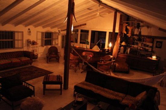 Casa Santa Ana del Iberá: wohnzimmer