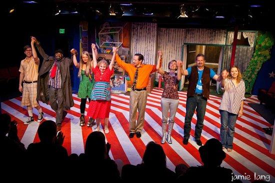 Cyrano's Theatre Company: CTC Presents bobrauschenbergamerica