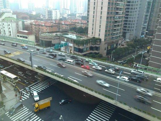 هوتل نيكو شنغهاي: Morning view from room 820 