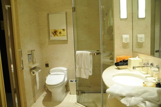 Hotel Nikko Shanghai: Bathroom of 820 (from the bath)