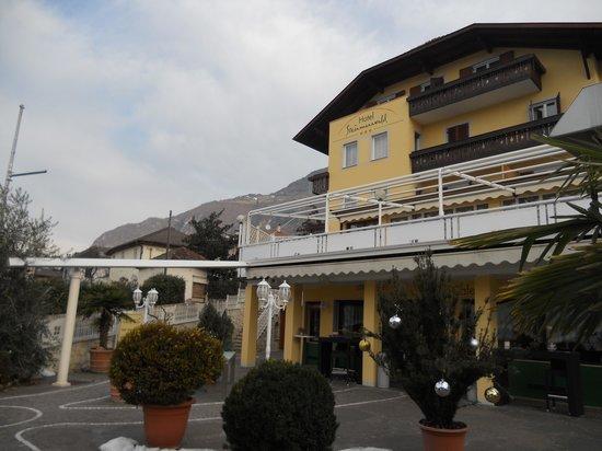Hotel Steinmannwald: facciata principale