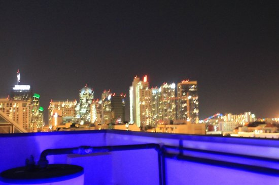 Porto Vista Hotel: view from the roof of San Diego