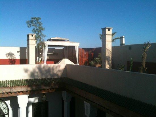 Bellamane, Ryad & Spa: terrasse