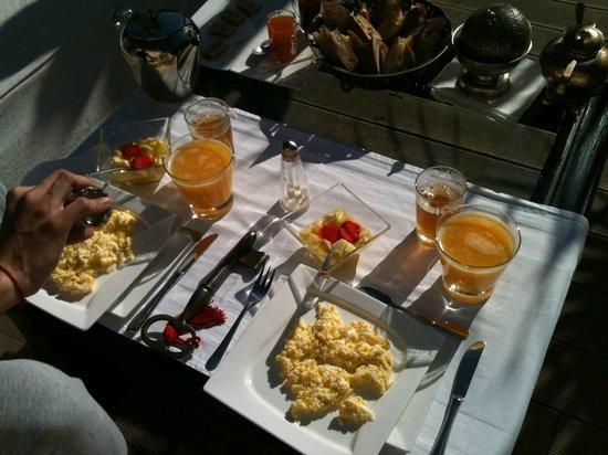 Bellamane, Ryad & Spa: petit dejeuner