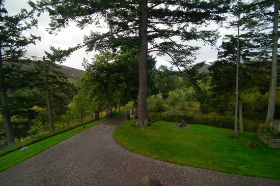 Crubenbeg House : View from one of our windows