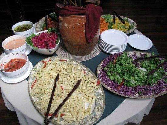 Selva Verde Lodge: Delidious salads