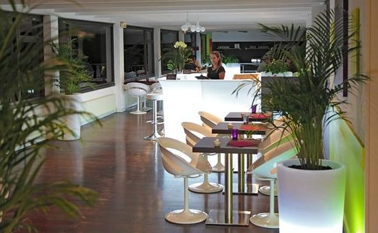Appart'City Confort Grenoble Alpexpo : Park&Suites Elegance Grenoble Alpexpo - Bar