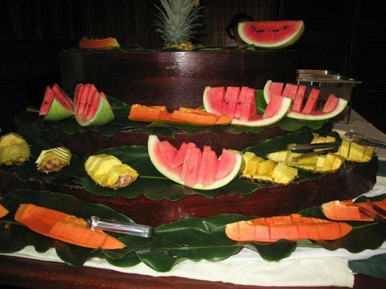 Selva Verde Lodge: Fresh fruits for breakfast