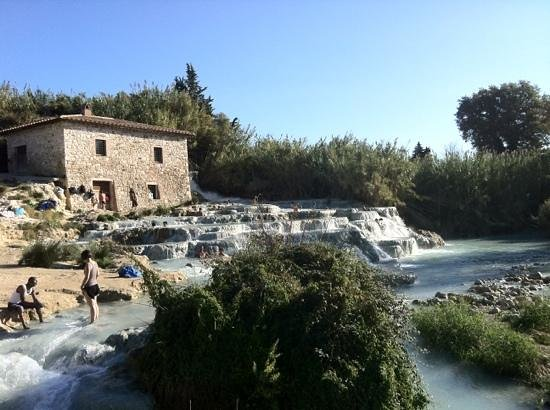 Сатурина, Италия: Le cascatelle
