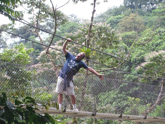 Bill Beard's Costa Rica: Hanging Bridges, Arenal