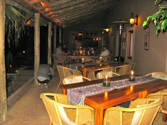 Thabile Lodge: Terrace