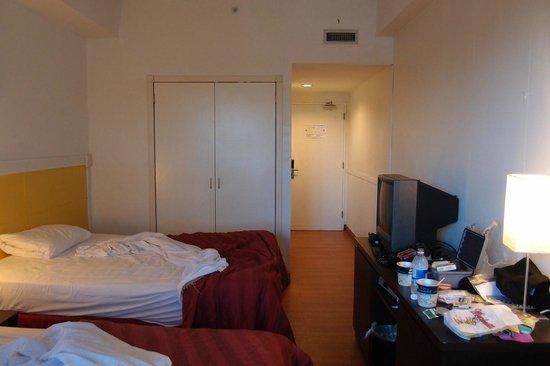 Grand Plaza Hotel: 部屋(ツインルーム)