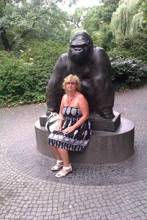 Zoologischer Garten (Berlin Zoo): горилла